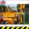 Road Safety Construction Hydraulic Hammer Guardrail Pile Driver for Sale