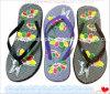 PVC EVA Women New Flip Flop Slipper (RD: 012)
