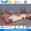 with 18m Transparent Event Tent