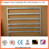 Oval Cattle Rail Rural Steel Fencing for Sale