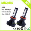 Latest New Product Philips LED 4500lm H11 Car LED Headlight