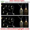 4m White Wire White Warm White LED Bulb Decoration Light