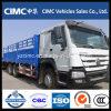 Sinotruk HOWO 6X4 10 Wheeler 40 Ton Cargo Truck for Djibouti