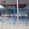 African Type of Quicklock Scaffolding System for Masonry Construction