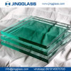Custom 5mm-22mm Flat Clear Tempered PVB Laminated Glass