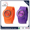 Adult Janpan Movement Quartz Silicone Band Slap Wrist Watch (DC-093)