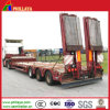Air Suspension Three BPW Axles Low Bed Truck