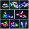 Christmas Decorative DJ Disco 5W Stage Beam Laser Lighting with Animation