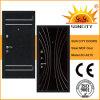 MDF Panel Inside Steel Wooden Armored Door for Outdoor (SC-A210)