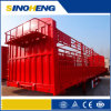 Tri-Axle Enclosed Box Van Trailer for Bulk Agricultures
