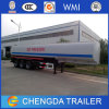 3axles Fuel Tank Truck Diesel Tanker Trailer for Dubai