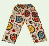 Fashion Clothes Linen Leisure Women Wide Trouser