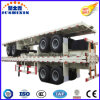 Two Axle Container Flat Trailer for Truck