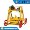Qmy4-40 Mobile Fly Ash Cement Hollow Blockmaking Machine