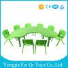 Indoor Kids Educational Equipment Plastic Chairs and Desks