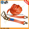 Gu TUV Certificated Ratchet Tie Down / Lashing Strap Belt / Cargo Lashing