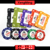 760PCS Clay Poker Chips Set / Crown Clay Casino Chips Set for Gambling Game with Aluminum Case (YM-SGHG004)