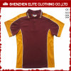 Color Combination Collar Design Polo Shirt Uniform (ELTMPJ-250)