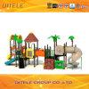 114mm Galvanized Post Colourful Children Outdoor Playground Equipment