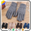 Warm Knitted Wool Screen Gloves in Winter