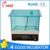 2017 Newest 4 Eggs Mini Egg Incubator for Sale Yz9-4
