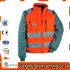 Safety Winter High Visibility Custom Logo Waterproof Bomber Jacket