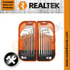 18PCS Combo Hex Key Set (Metric And Torx)