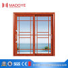 Veranda Two Tracks Aluminium Sliding Door with Tempered Glass
