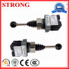 Self-Resetting Adjustable Limit Stroke Switch on Construction Hoist