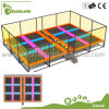 Commercial Economic Indoor Trampoline Park with Dodgeball for Relax