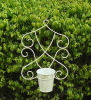 Very Nice Vintage Antirust Wrought Irons Antique Metal Decorative Outdoor Wall Planter Holder