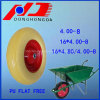 Good Quality Competitive 4.00-8 PU Free Flat/Wheel