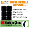 Solar Power 100watt Monocrystalline off-Grid PV Solar Panel