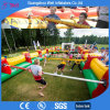 Kids Inflatable Human Football Games Inflatable Foosball Table Football Field