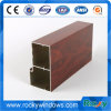 Wooden Grain Aluminum Extrusion for Window and Door