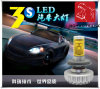 Super Bright Fanless LED Headlight H4 8000lm