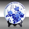 Customize Round Souvenir Decorative Ceramics Plate