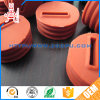 Round Rubber Pipe Plug with Thru Hole