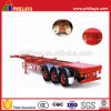 3 Axles 40-Foot Truck Chassis Skeleton Container Semi-Trailer