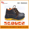 Chemical Resistant Safety Work Shoes on Oil Field RS801