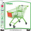 Grocery Shopping Carts with Advertising Board and Coin Lock
