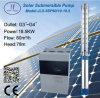 25HP 6inch Submersible Centrifugal Solar Water Pump