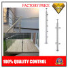 Stainless Steel Stair or Balcony Glass Pillar