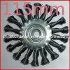 115mm Twist Knot Wheel Brush (YY-059)