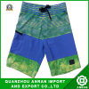 Stripe Men's Beach Shorts with Polyester&Spandex