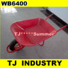 Red Color Wb6400 Wheel Barrow