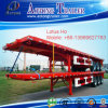 40ft Container Flatbed Trailer with 385/65r22.5 Single Tire for Tanzania
