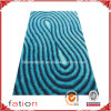 Colorful Good-Looking Shaggy Carpet Smoothly Area Rug with 3D Effects