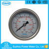63mm Double Scale Pressure Gauge En837-1 with Silicone Oil