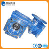 Double Step Worm Gear Reducer with Output Flange